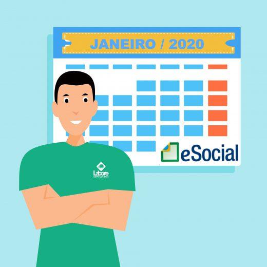Novo calendário do eSocial