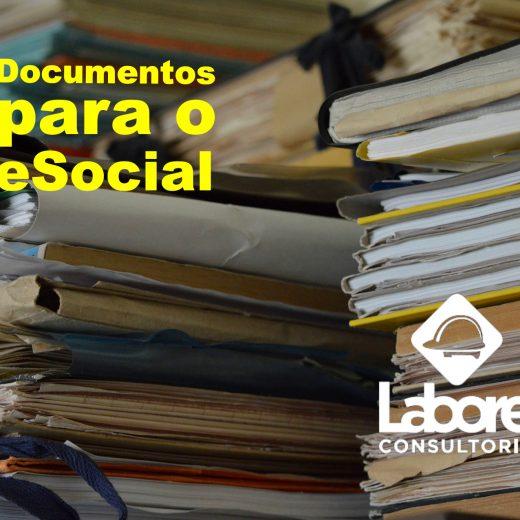 Documentos para o eSocial