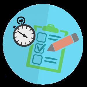 Controle os itens e o tempo de registro na Ficha de Controle de EPI